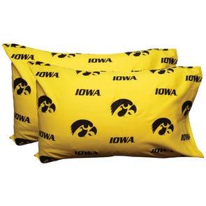College Covers University of Iowa Pillowcase Pair
