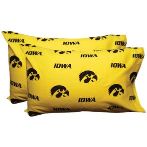College Covers University of Iowa Pillowcase Pair
