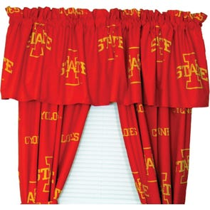 College Covers University of Iowa Curtain Valance