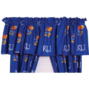 College Covers University of Kansas Curtain Panel 84 Inch
