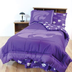 College Covers Kansas State University Bed in a Bag