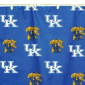 Kansas State Printed Shower Curtain by College Covers