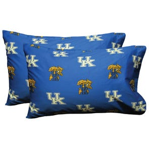 College Covers University of Kentucky Pillowcase Pair