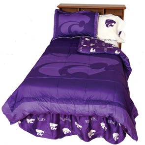 College Covers Kansas State University Comforter Set