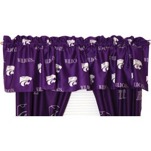 College Covers Kansas State University Curtain Panel 84 Inch