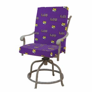 College Covers Louisiana State University Tigers 2 Piece Chair Cushion