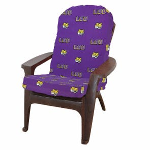 College Covers Louisiana State University Tigers Adirondack Cushion