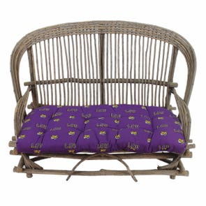College Covers Louisiana State University Tigers Settee Cushion