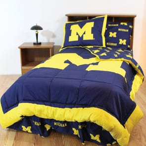 College Covers University of Michigan Bed in a Bag