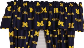 College Covers University of Michigan Curtain Panel 84 Inch