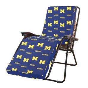 College Covers University of Michigan Zero Gravity Chair Cushion