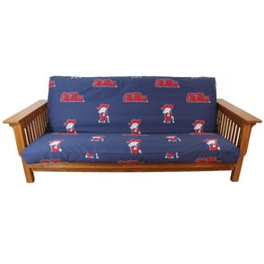 College Covers University of Mississippi Futon Cover