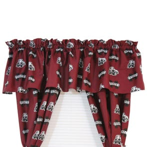 College Covers Mississippi State University Printed Curtain Panels
