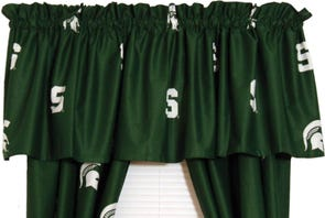 College Covers Michigan State University Curtain Panel 84 Inch