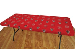 College Covers North Carolina State University 6 Foot Table Cover