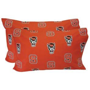 College Covers North Carolina State University Pillowcase Pair
