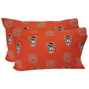 College Covers North Carolina State University Pillowcase Pair