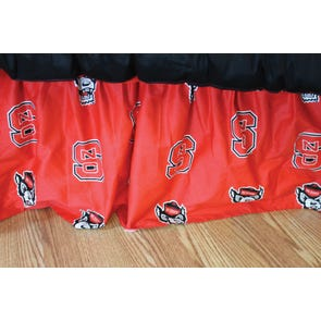 College Covers North Carolina State University Bed Skirt