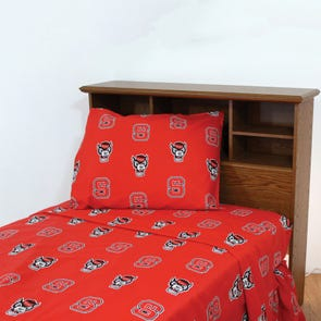 College Covers North Carolina State University Sheet Set