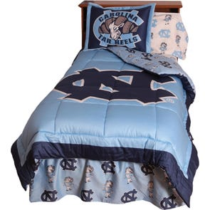 College Covers University of North Carolina Comforter Set