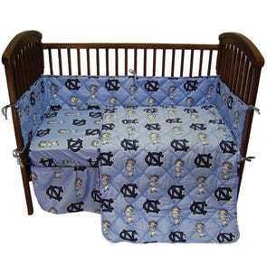College Covers University of North Carolina Crib Set