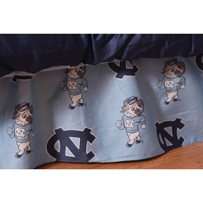 College Covers University of North Carolina Bed Skirt