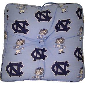 College Covers University of North Carolina Floor Pillow