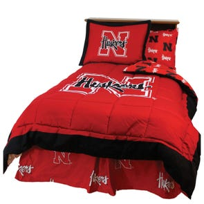 College Covers University of Nebraska Comforter Set