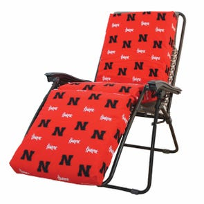 College Covers University of Nebraska Zero Gravity Chair Cushion