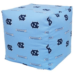 College Covers University of North Carolina Cube Cushion