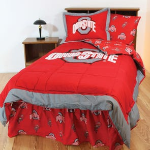 College Covers Ohio State University Bed in a Bag