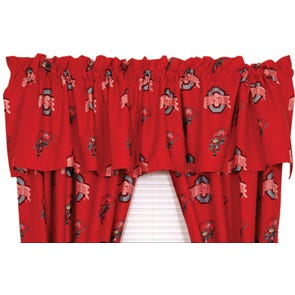 College Covers Ohio State University Curtain Panel 84 Inch