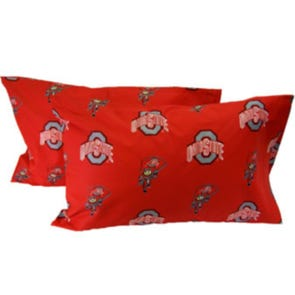 College Covers Ohio State University King Pillowcase Pair