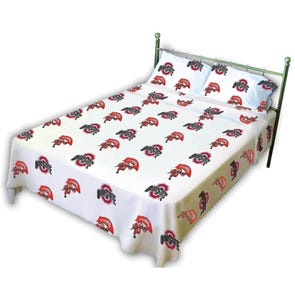 College Covers Ohio State University Sheet Set