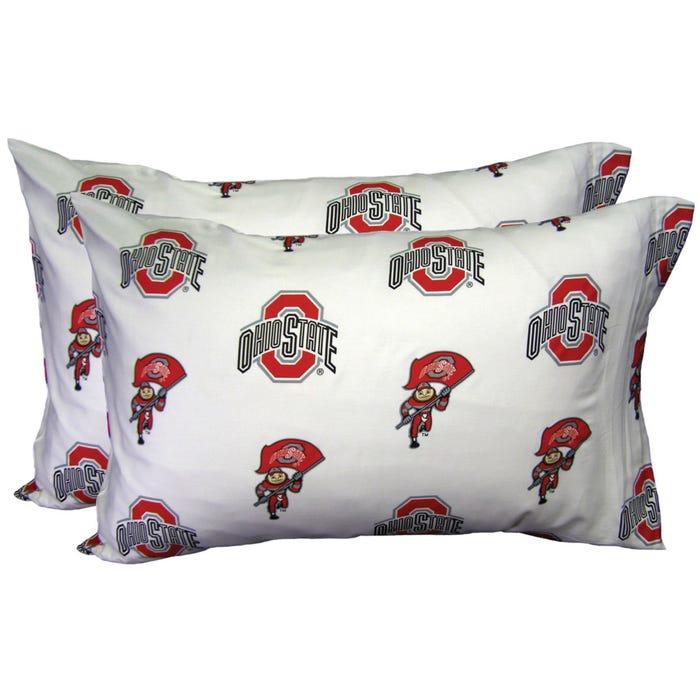 College Covers Ohio State University Pillowcase Pair