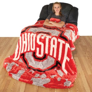 College Covers Ohio State Throw Blanket