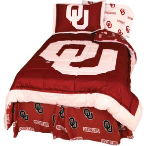 College Covers University of Oklahoma Comforter Set