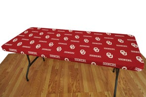 College Covers University of Oklahoma 8 Foot Table Cover