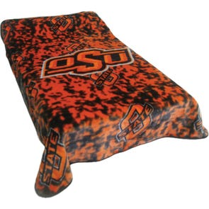 College Covers Oklahoma State University Throw Blanket