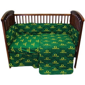 College Covers University of Oregon 5 Piece Crib Set