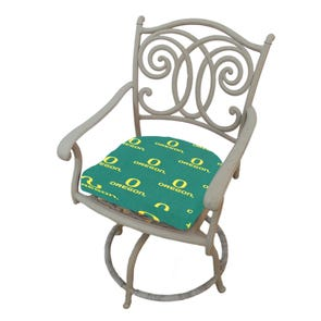 College Covers University of Oregon Ducks D Chair Cushion