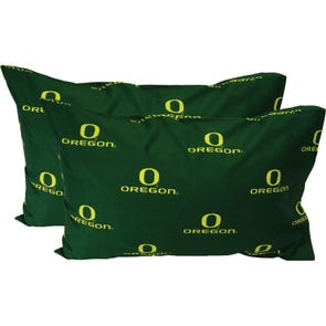 College Covers University of Oregon Standard Pillowcase Pair