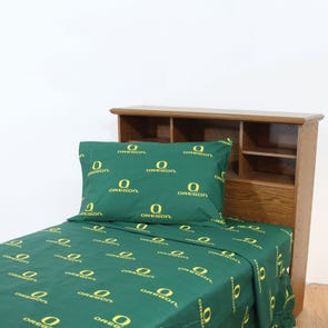 College Covers University of Oregon Printed Sheet Set