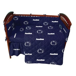 College Covers Penn State University Crib Set
