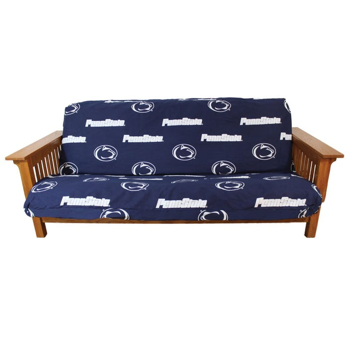 Swell College Covers Penn State University Futon Cover Machost Co Dining Chair Design Ideas Machostcouk