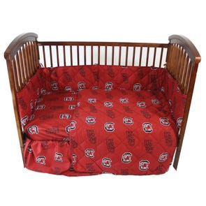 College Covers University of South Carolina Crib Set