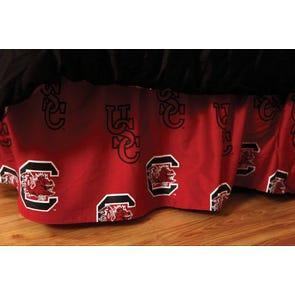College Covers University of South Carolina Bed Skirt