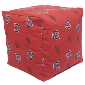College Covers University of South Carolina Cube Cushion