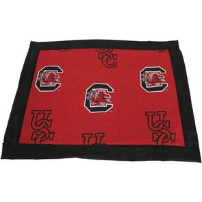 College Covers University of South Carolina Placemat with Border Set of 4