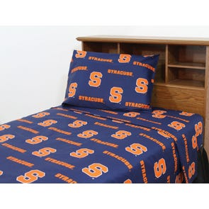 College Covers Syracuse University Printed Sheet Set